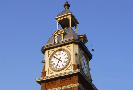 Peterborough Market Hall Clock Tower